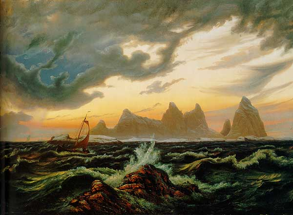 the northern lights route knud baade